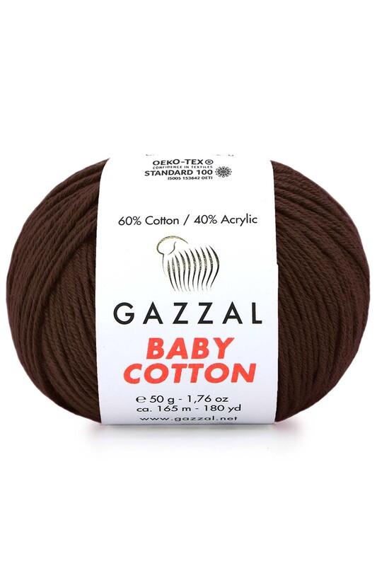 Gazzal - Gazzal Baby Cotton El Örgü İpi 3436