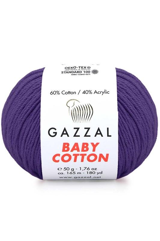 Gazzal - Gazzal Baby Cotton El Örgü İpi 3440