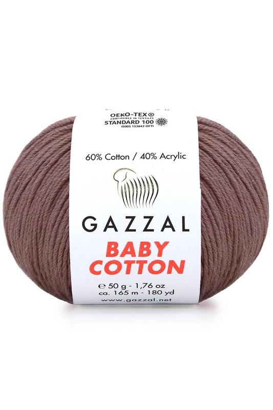 Gazzal - Gazzal Baby Cotton El Örgü İpi 3455
