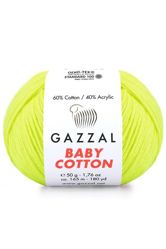 Gazzal - Gazzal Baby Cotton El Örgü İpi 3462