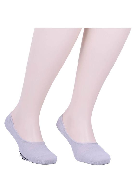 SİMİSSO - Simisso Erkek Tavaf Babet Çorabı | Gri