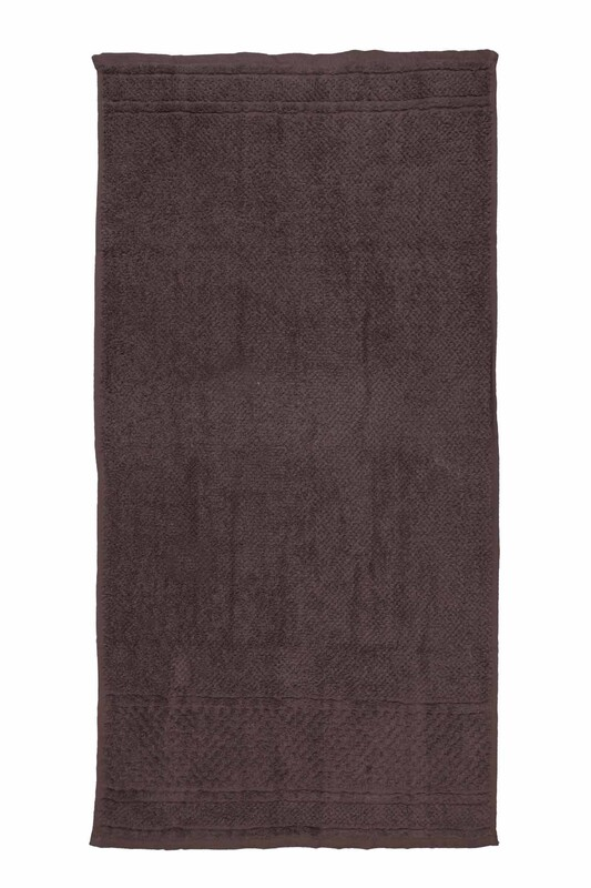 HAZANGÜLÜ - Hazangülü Hazan El ve Yüz Havlusu 50x90 cm | Kahverengi