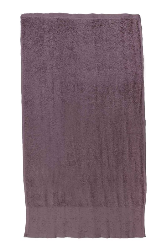 HAZANGÜLÜ - Hazangülü Tuana El ve Yüz Havlusu 50x90 cm | Lavanta
