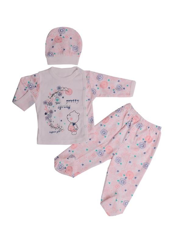 HOPPALA BABY - Hoppala Baby Bebek Takımı 8076 | Yavru Ağzı