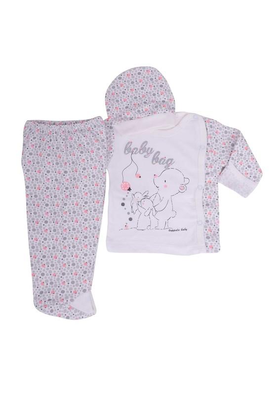 HOPPALA BABY - Hoppala Baby Bebek Takımı 8118 | Pudra