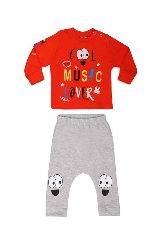 HOPPALA BABY - Hoppala Baby Cool Erkek 2'li Takım 2271 | Turuncu