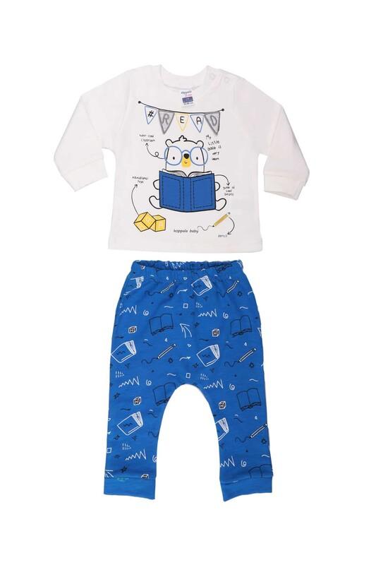 HOPPALA BABY - Hoppala Baby Read Erkek Çocuk 2'li Takım 2267 | Saks