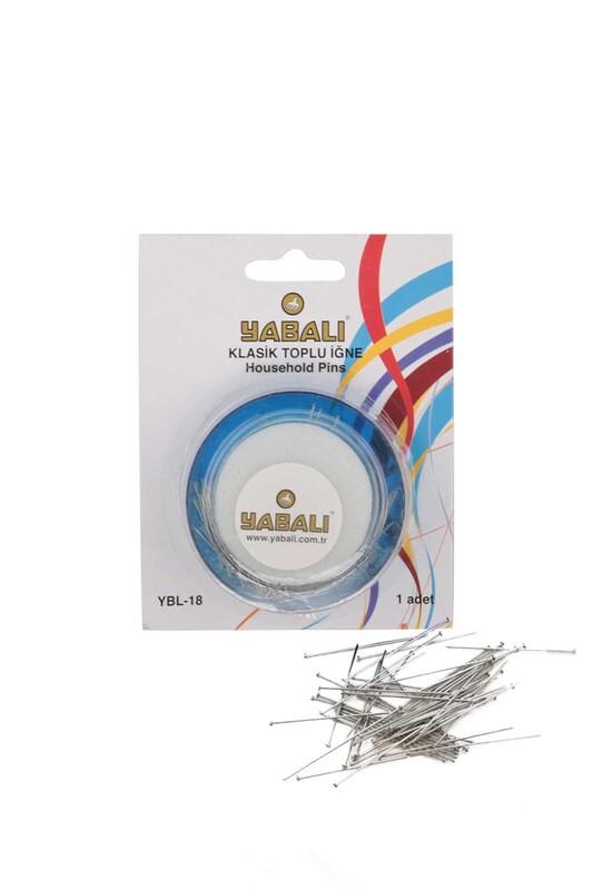 YABALI - Yabalı Klasik Toplu İğne 25 gr. YBL-18
