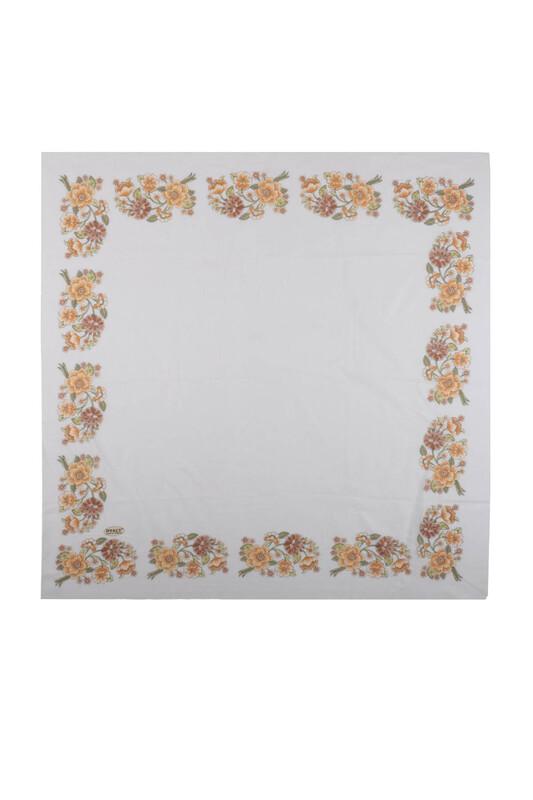 İPEKÇE - İpekçe Çiçek Desenli Yazma 90 cm   031