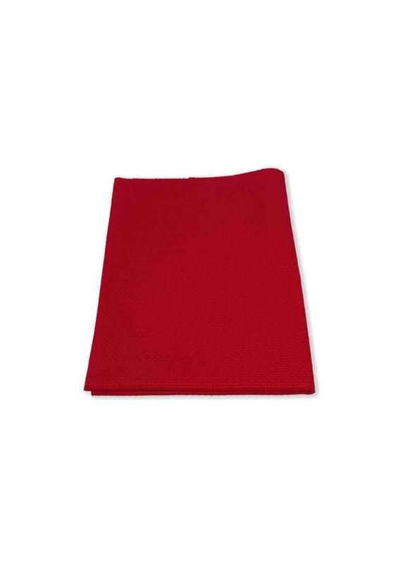 SİMİSSO - Etamin Kumaşı 50*70 cm | Kırmızı
