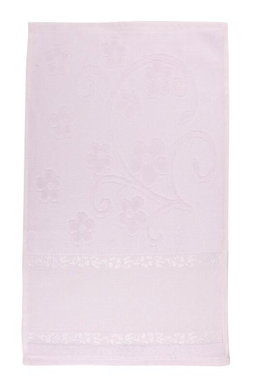 SİMİSSO - Saçaksız İşlemelik Havlu 30*50 cm | Lila