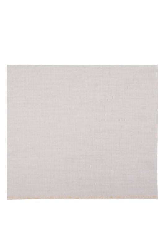 SİMİSSO - Etuval Linen İşlemelik Etamin Kumaşı 40x40 | Taş