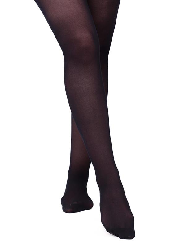 ITALIANA - İtaliana Mat Siyah Külotlu Çorap 1118 | Siyah