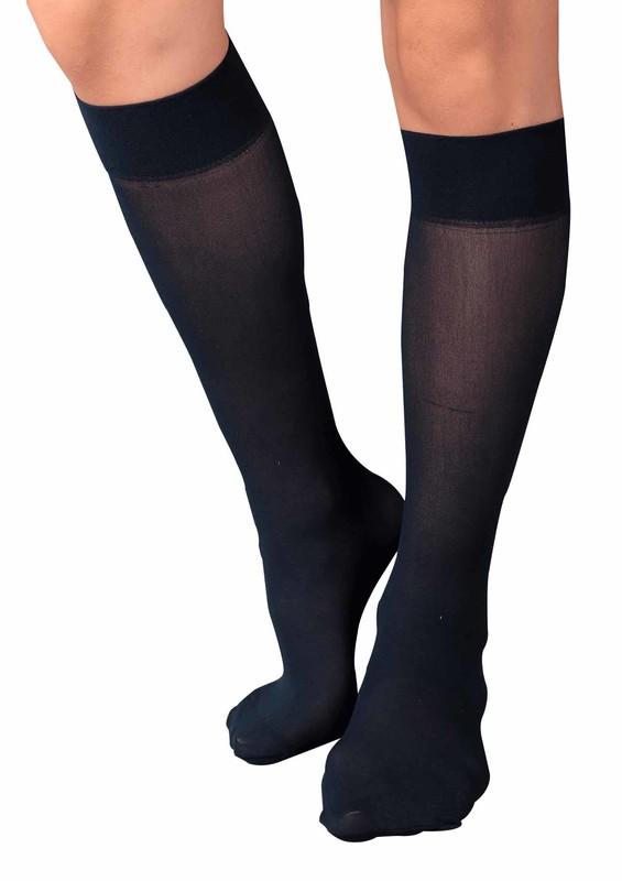 ITALIANA - İtaliana Opak Konfor Bantlı Dizaltı Çorap 1013 | Lacivert