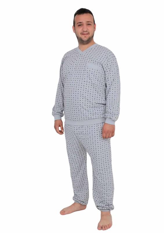 ITAN - İtan Pijama Takımı 347   Gri