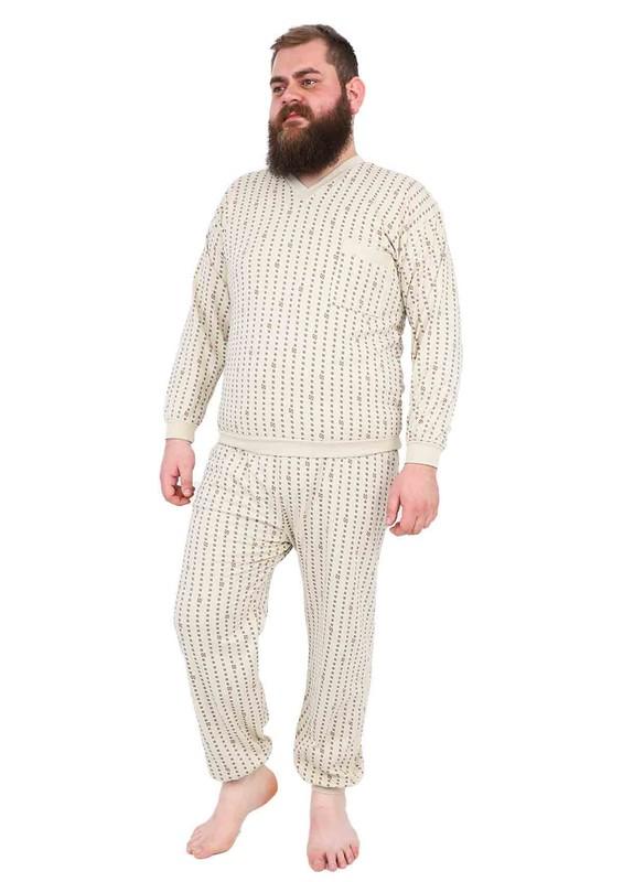 ITAN - İtan Pijama Takımı 355 | Bej