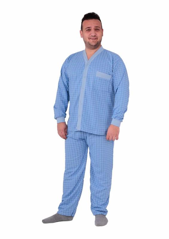 ITAN - İtan Pijama Takımı 359   Mavi