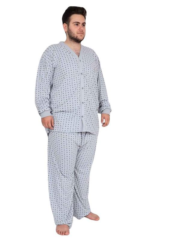 ITAN - İtan Pijama Takımı 458   Gri
