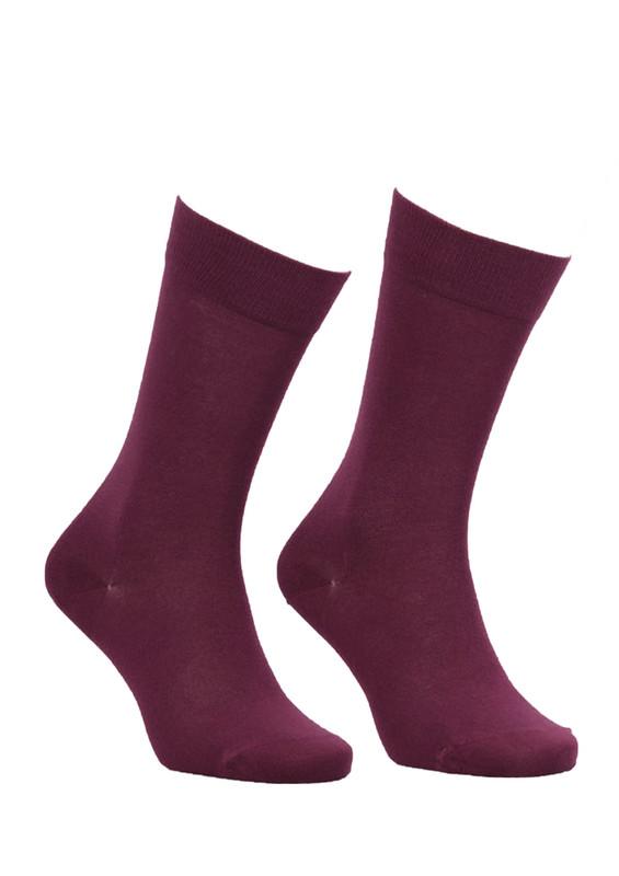 JİBER - Jiber Modal Çorap 5100 | Bordo