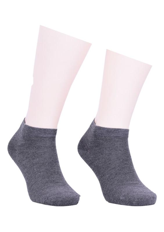 JİBER - Jiber Modal Patik Çorap 6100 | Antrasit