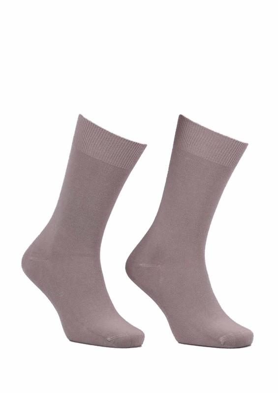 SİMİSSO - Kadın Bambu Çorap 514 | Bej