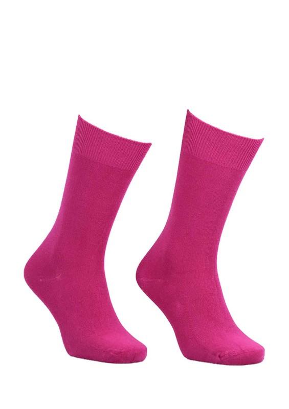 SİMİSSO - Kadın Bambu Çorap 514 | Pembe