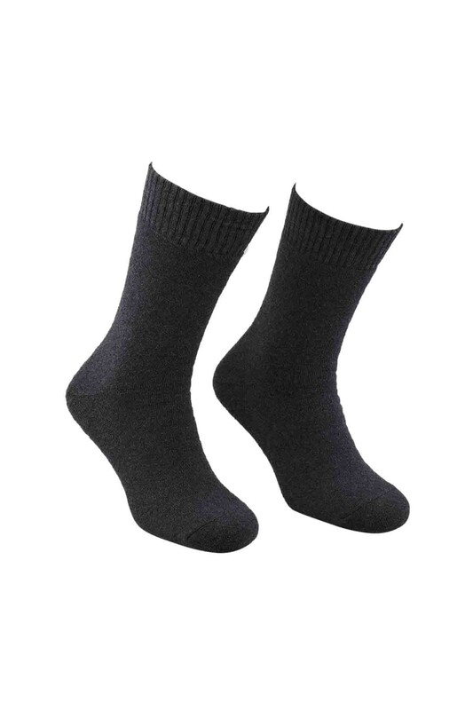 MOFİY - Mofiy Termal Havlu Kadın Çorap   Gri