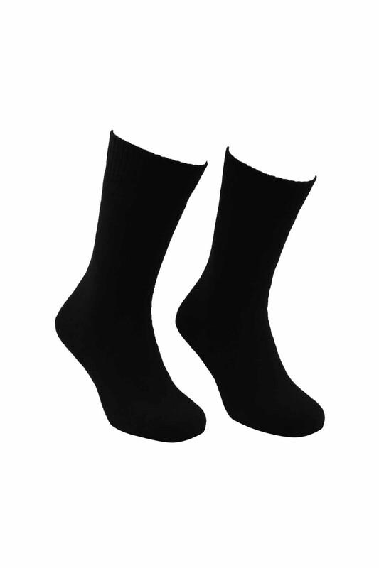 MOFİY - Mofiy Termal Havlu Kadın Çorap   Siyah