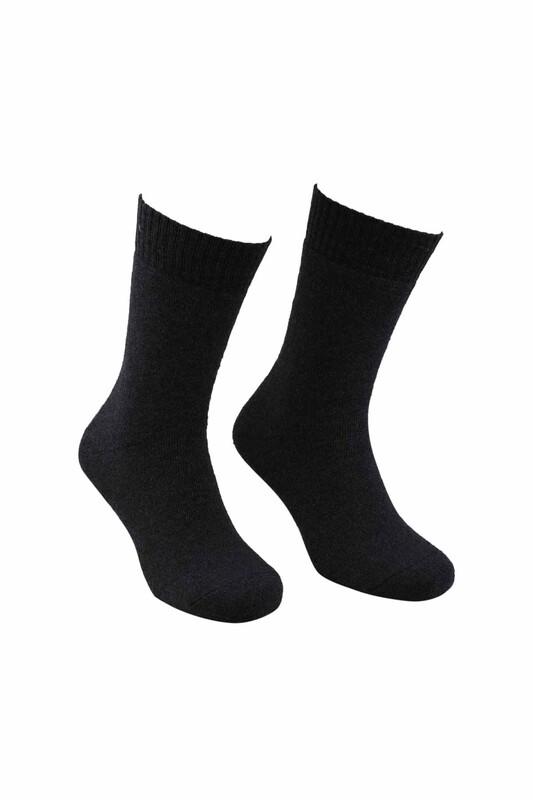 MOFİY - Mofiy Termal Havlu Kadın Çorap   Füme