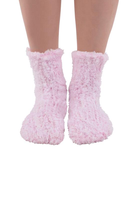 SAHAB - Sahab Kadın Örme Uyku Çorabı 30800   Pembe