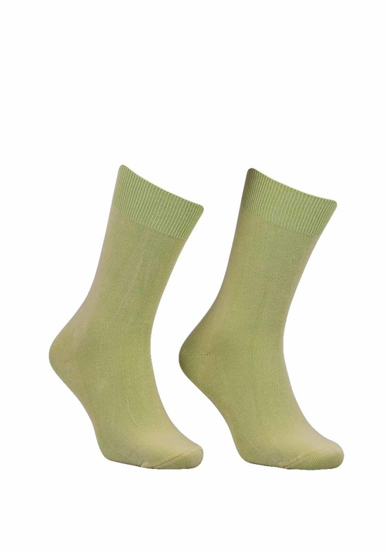 SİMİSSO - Kadın Bambu Çorap 514   Yeşil