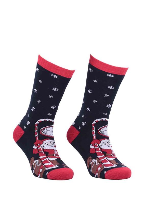 SİMİSSO - Havlu Yılbaşı Çorabı 3'lü Kutulu | Model 1