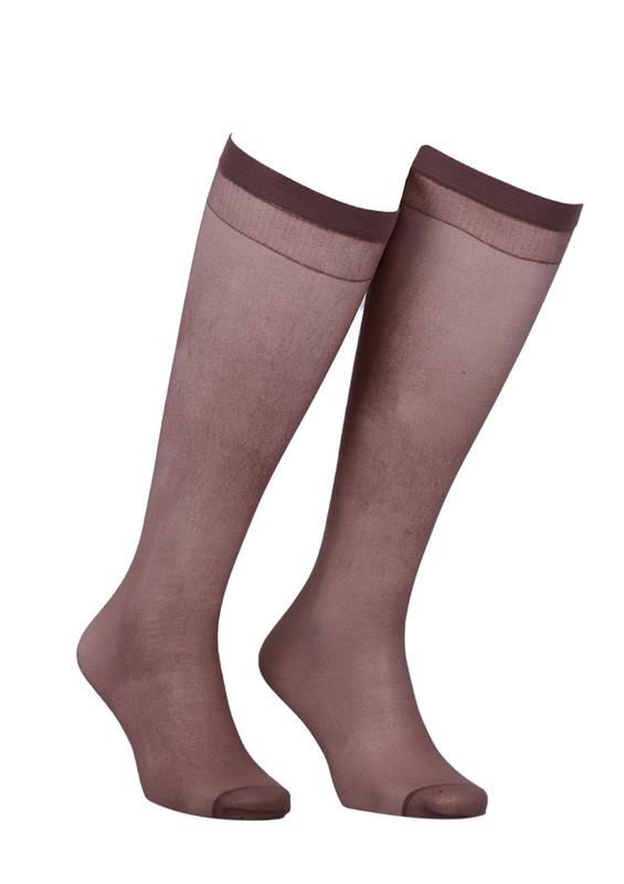 MÜJDE - Müjde Diz Üstü Çorap 006 | Vizon