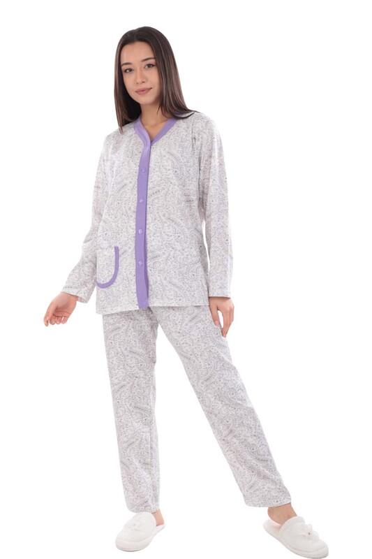 SİMİSSO - Kadın Pijama Takımı | Mor