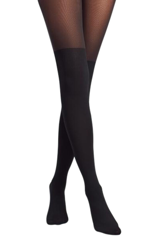 PENTİ - Penti Over Knee Külotlu Çorap | Siyah