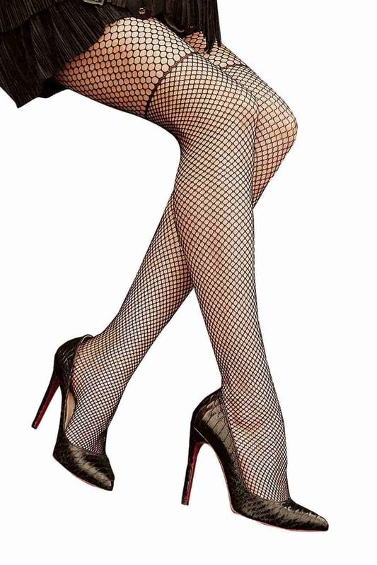 PENTİ - Penti Chick File Külotlu Çorap | Siyah