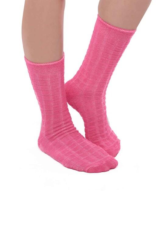 ARC - Kadın Ters Havlu Çorap 212   Pembe
