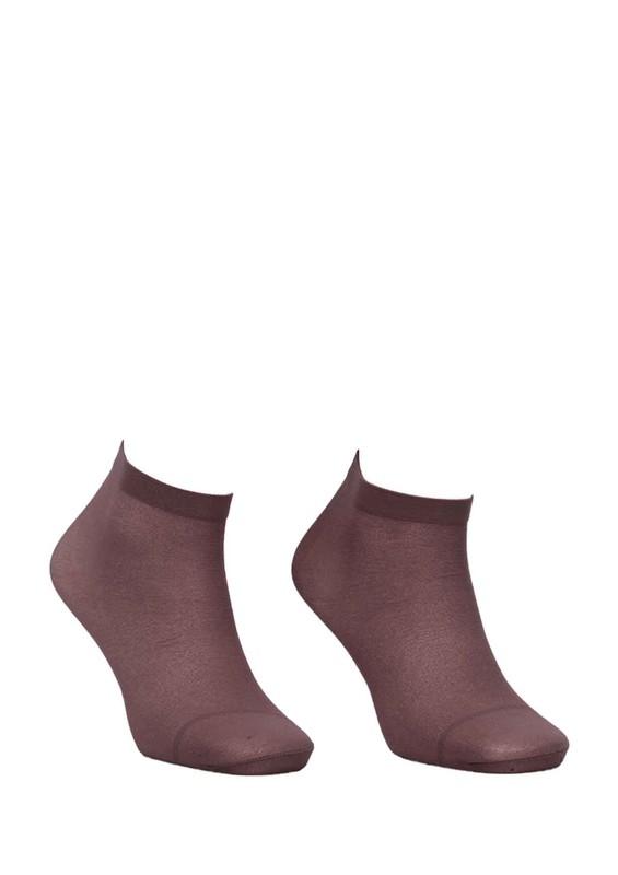 DESİMO - Desimo Düz Soket Çorap 339 | Vizon