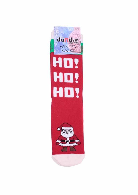 DÜNDAR - Dündar Hoho Yazılı Havlu Çorap 504 | Kırmızı