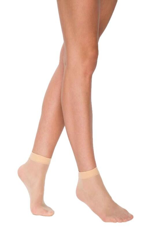 PENTİ - Penti 15 Den Süper Mat Soket Çorap | Açık Ten