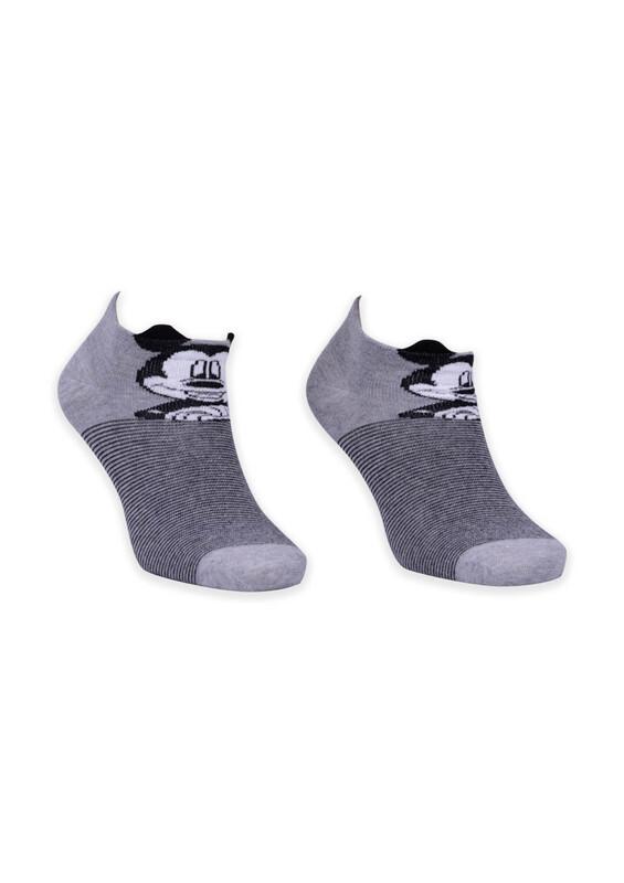 SİMİSSO - Hayvan Karakterli Kadın Soket Çorap | Gri