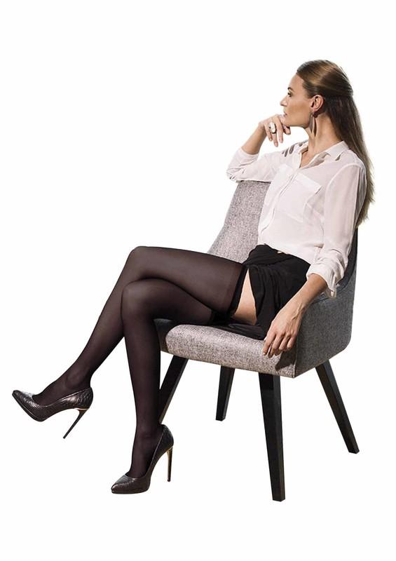 MÜJDE - Müjde Rahat Lastikli Mus Çorap Renk Seçenekli 013 | Siyah