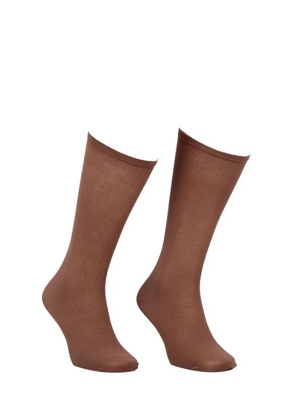 MÜJDE - Müjde Dizaltı Çorap 003 | Bronz