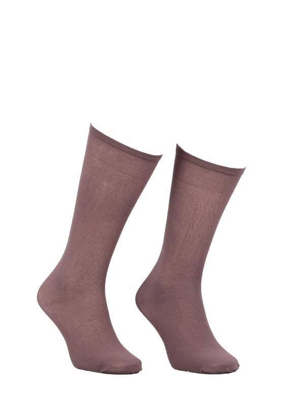 MÜJDE - Müjde Dizaltı Çorap 003 | Vizon