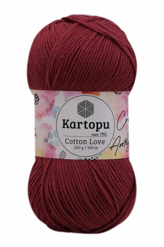 KARTOPU - Kartopu Cotton Love El Örgü İpi 100 gr   K104