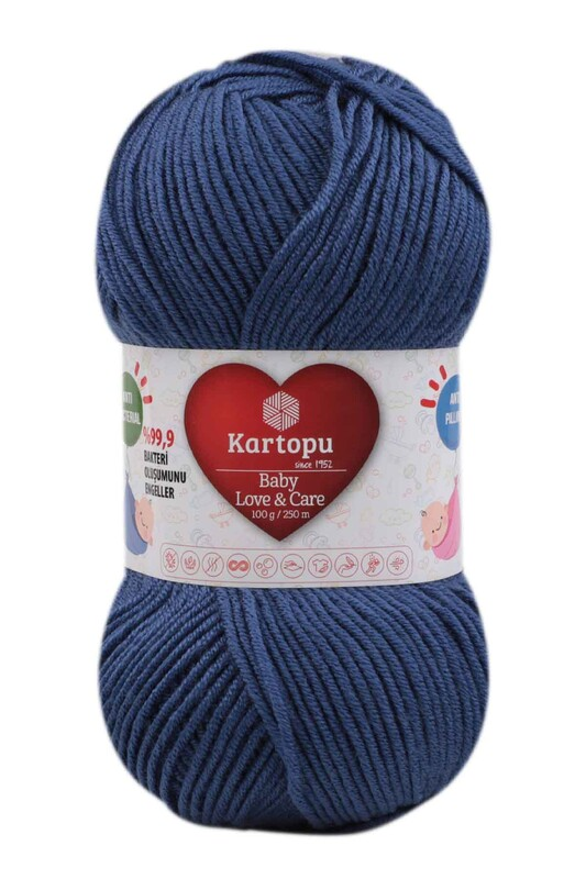 KARTOPU - Kartopu Baby Love & Care El Örgü İpi 100 gr.   K604