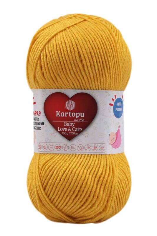 KARTOPU - Kartopu Baby Love & Care El Örgü İpi 100 gr.   K1321