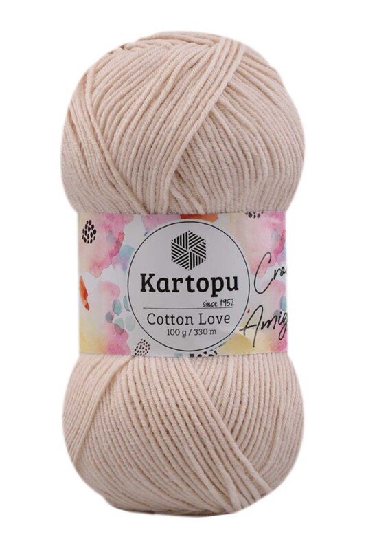 KARTOPU - Kartopu Cotton Love El Örgü İpi 100 gr   K354