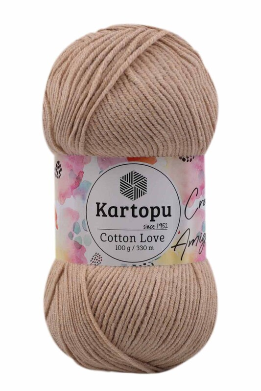 KARTOPU - Kartopu Cotton Love El Örgü İpi 100 gr   K837