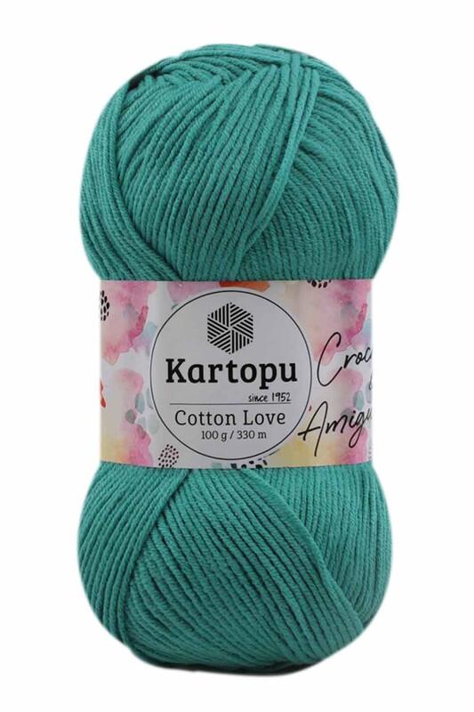 KARTOPU - Kartopu Cotton Love El Örgü İpi 100 gr   K418